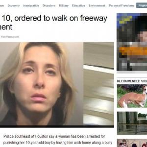 息子を高速道路に置き去りにした母親『保護責任者遺棄』の罪で逮捕…息子は無事に保護