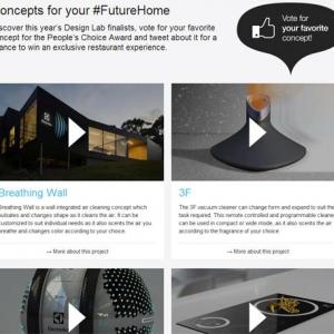 昆虫型小型ロボットで部屋を掃除? エレクトロラックスの未来家電コンテストの8作品は実現できるのか?