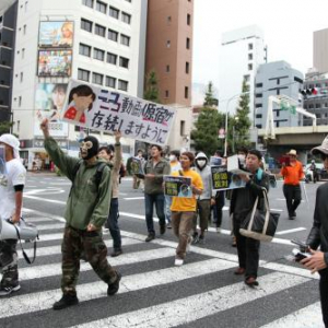ニコニコ動画『GINZA』に伴い廃止になる『原宿』にユーザー激怒 原宿廃止反対デモがドワンゴ本社前で行われる