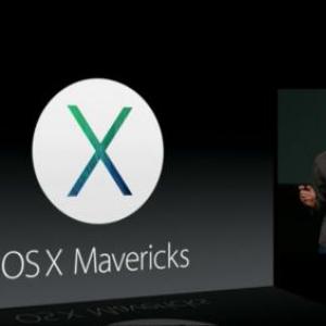 """アップルの新OS""""OS X Maverick""""が無料で配布 OSが無料で配布される時代に"""