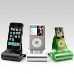 全9色で登場! クレードルとしても使える『iPhone/iPod』用アルミスタンド