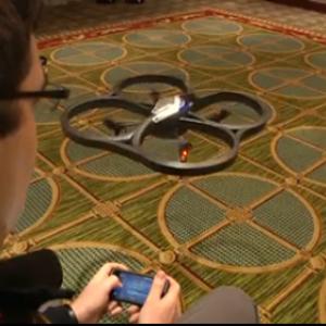 iPhoneをデバイスにしてUFOのような飛行物を操作! 動きが凄すぎる