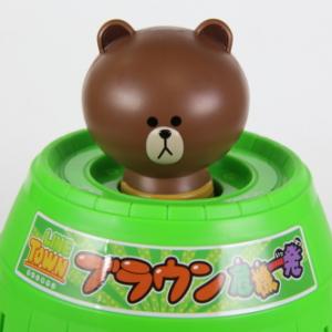 【動画アリ】ブラウン危機一発 (タカラトミー)フォトレビュー
