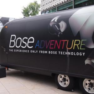代官山蔦屋にスペシャルトレーラーが登場! 最新音響システムを体験できる『Bose ADVENTURE』開催中