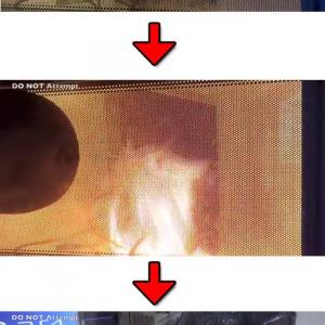 恒例の新ガジェット電子レンジ動画 『PlayStation 4』も電子レンジ行き