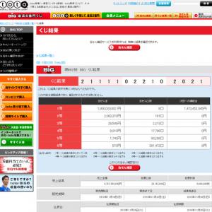 スポーツ振興くじ 1等当選金10億円で過去最高の売り上げ 『BIG』の1等10億円が9組も!