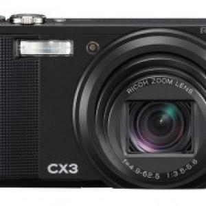 暗いシーンでの撮影に強い!リコー、広角高倍率デジタルカメラ『CX3』発売へ