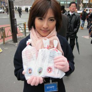 『ラブプラス』バレンタインデー企画! 新宿でチョコレート配布