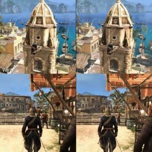 『アサシンクリード4』のWii U版とPlayStation 4版の比較動画 PS4はさすが凄いがWii Uも健闘