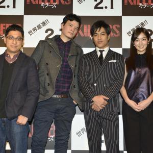 日本とインドネシアが血まみれに! 猟奇エンターテイメント『KILLERS/キラーズ』来日イベント