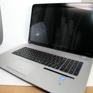 【ソルデジ】空中の指先で操作する画期的なPC 『Leap Motion』デバイス内蔵の『HP ENVY 17-j100 Leap Motion SE/CT』