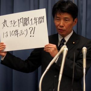 山本一太・内閣府特命担当大臣定例会見「知財戦略会議とクールジャパン部局の連携は今後の課題」(2013年12月26日)