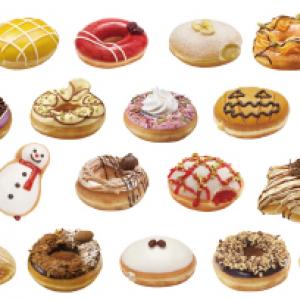 甘~いドーナツをお年賀にいかが? 『クリスピー・クリーム・ドーナツ』から『ベスト・ヒット・ドーナツ』が期間限定で復活発売!