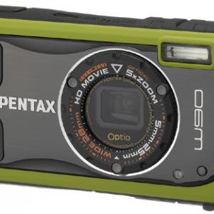 """""""デジタル顕微鏡""""モード搭載!防水・耐衝撃性を強化したデジカメ『PENTAX Optio W90』"""