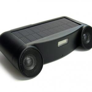 ソーラーパネルで電源要らずのアクティブスピーカー『SOLAR SOUND』