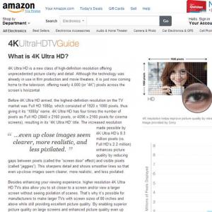Amazonが本格的に4K動画配信に参入 ワーナー,20世紀FOXなど