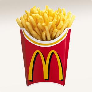 マクドナルドのポテトがSもMもLも150円になるヨ!