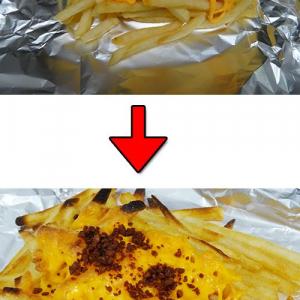 マクドナルドの『クラシックフライ with チーズ』の見た目が良くないと不評? そんなわけで良くしてみた