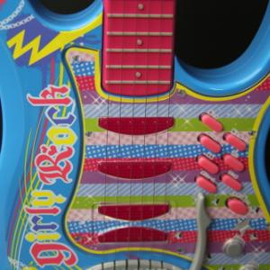【動画レビュー】これで誰でもギターアイドル! 『アイカツ! ガーリーロックギター』を弾いてみた