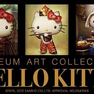 ハローキティがダ・ビンチやフェルメールの名画の中に! 『HELLO KITTY MUSEUM ART COLLECTION』新アイテム発売