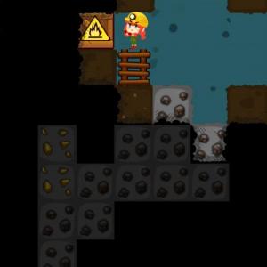 【アプリ】掘りまくるアクションパズルゲーム『ディグディグ』が面白すぎる