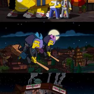 『シンプソンズ』が最新エピソードでジブリのパロディー 過去にはディズニーのパロディーも?
