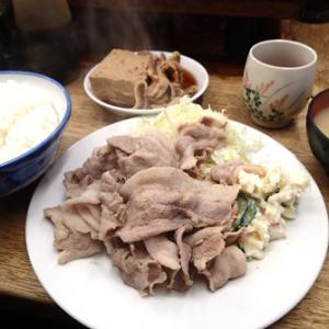 恵比寿ランチ:ノスタルジーも味のうち!都会のまん中で昭和な定食屋を味わうーーこづち (味:★4 雰囲気:★4)