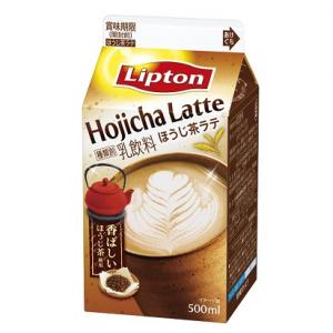 期間限定「ほうじ茶ラテ」! リプトン新フレーバーは和×洋のこれまでにない組み合わせ