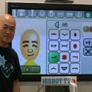 【名人ストーカー】高橋名人、Miiで自分の顔を作る
