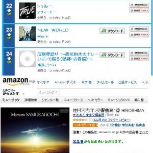佐村河内守のアルバムが皮肉にも騒動後にオリコン圏外から21位に浮上 アマゾンでは「ベストセラー1位」