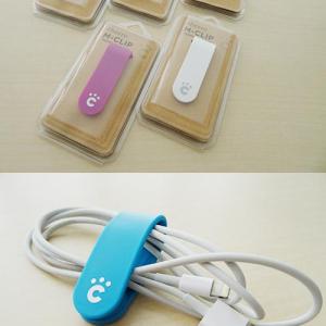 【ソルデジ】モバイルバッテリーで有名なcheeroが発売した万能クリップ『M-CLIP』が便利過ぎる