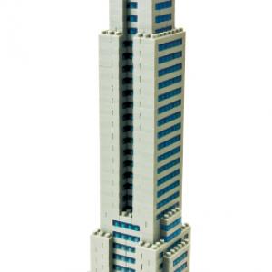 """【動画レビュー】世界最小級のブロック『nanoblock』で世界最大級の超高層ビル""""エンパイアステートビル""""をつくってみた!"""