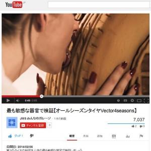 セクシー過ぎるタイヤの動画 菓子のタイヤを女性が舌で舐めまくり