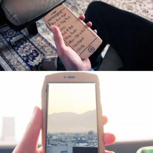段ボール型の『iPhone』が動きまくる面白いコンセプト動画 これは凄い!