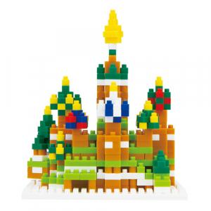"""【おもちゃ攻略】『nanoblock』でロシアの大聖堂""""聖ワシリー大聖堂""""をつくってみた!(動画)"""