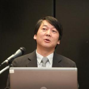 次期の韓国大統領候補アン・チョルスが彦麻呂に激似