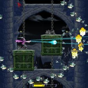 【アプリ】iOS爽快シューティングゲーム 特殊能力を駆使して360度から現れる敵を倒しまくれ!(動画)