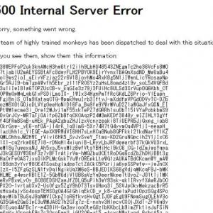 『YouTube』の動画管理画面やアップロード画面にアクセスすると「500 Internal Server Error」と出る際の対処方