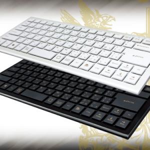 """""""複数同時押し""""に対応!最薄部約7mmのコンパクトキーボード『ONYX』"""