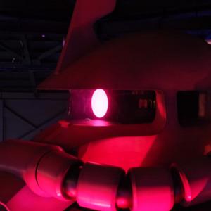 【機動戦士ガンダム特別展】シャアが来る! 那須ハイランドパークにてシャアザクが製造中!?