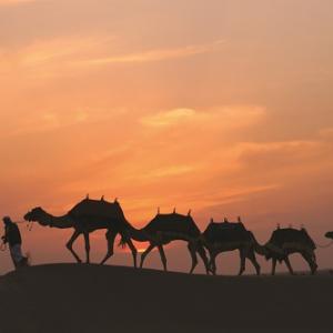 """【セレブな時間の使い方】砂漠を眺めながらコンタクト洗浄するための""""ドバイ旅行""""を当てよう! 乾燥した砂漠は瞳の潤いを実感するのに最適だから!"""
