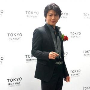 及川光博がファッショントーク「試着室は気持ちが焦るから苦手です」東京ランウェイ 2014 S/S