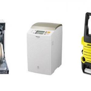 食器洗い機・ホームベーカリー・高圧洗浄機… 消費増税前に買いたいチョイ高家電