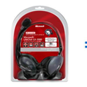 ウェブカメラとヘッドセットをセットで販売『LifeCam HD-5000 スターター パック』