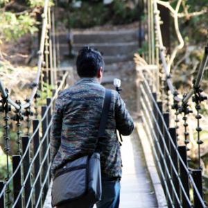 """都内にある""""超駅近""""つり橋へゴー! ソニー『アクションカム』で散策動画を撮影"""