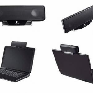 ノートPC用のコンパクトなスピーカー『ロジクール ノートPCスピーカー Z205』