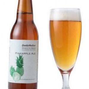 生のパイナップルを贅沢に使ったスイーツビール『パイナップルエール』春夏限定発売へ