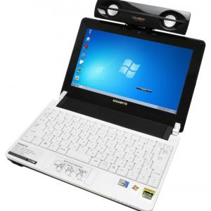 ノートPCと組み合わせて使うスタイリッシュなスピーカー『Colombus NB001BLACK』