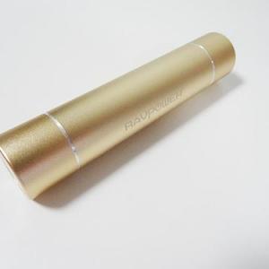 【ソルデジ】女性でも気軽に持ち運べるペンサイズのモバイルバッテリー LEDライト付き