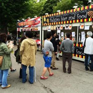 美味しいビールが飲める日比谷公園の「世界のグルメ名酒博」が開催中